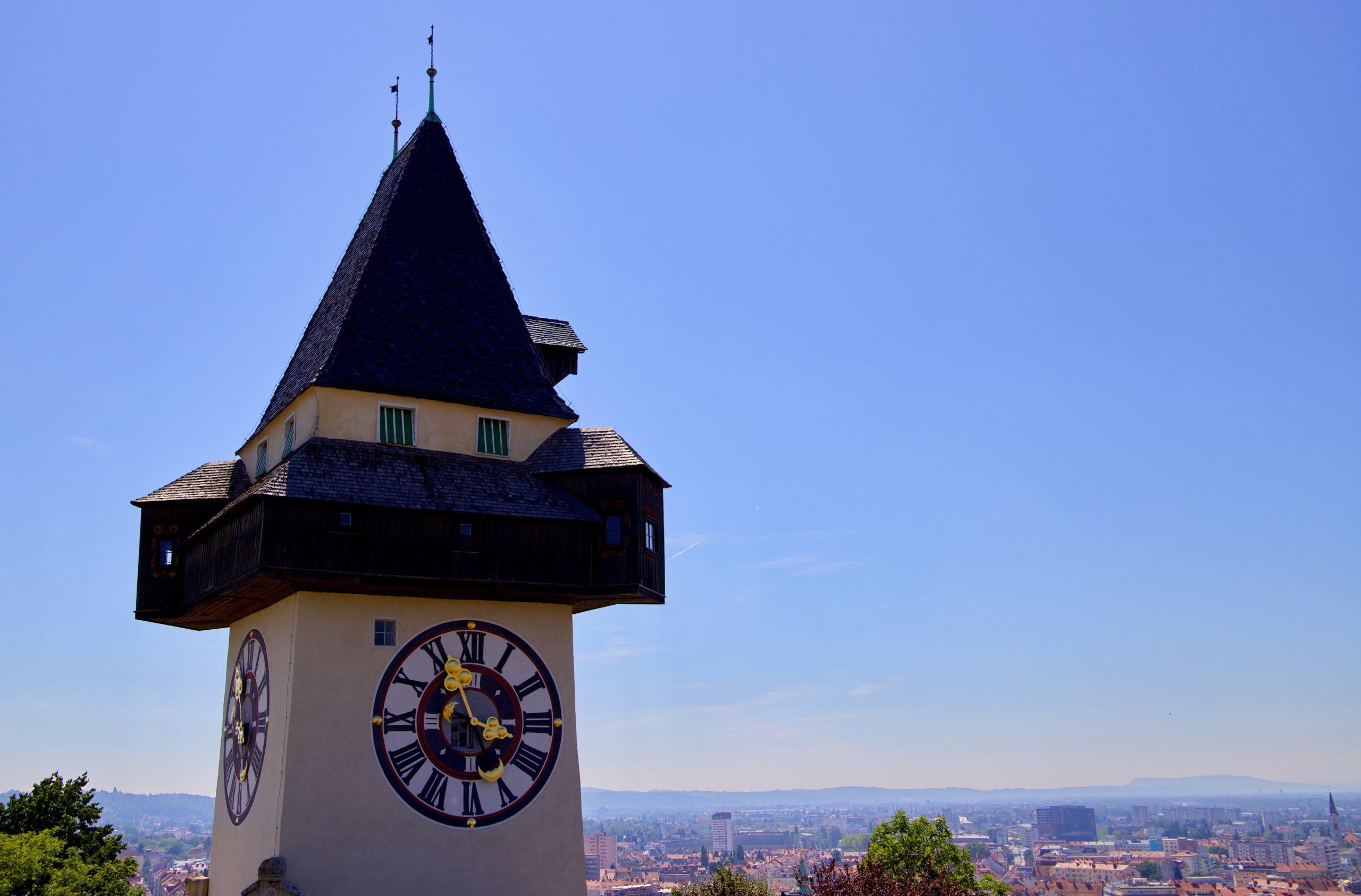 Grazer Uhrturm am Schloßberg