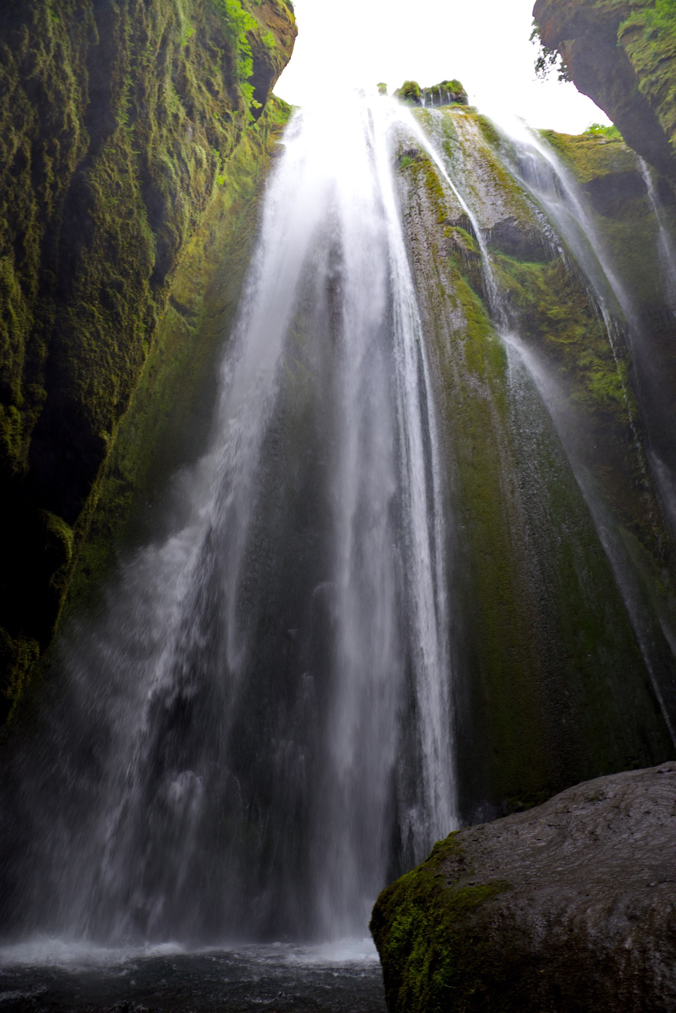 Wasserfall Gljúfrafoss