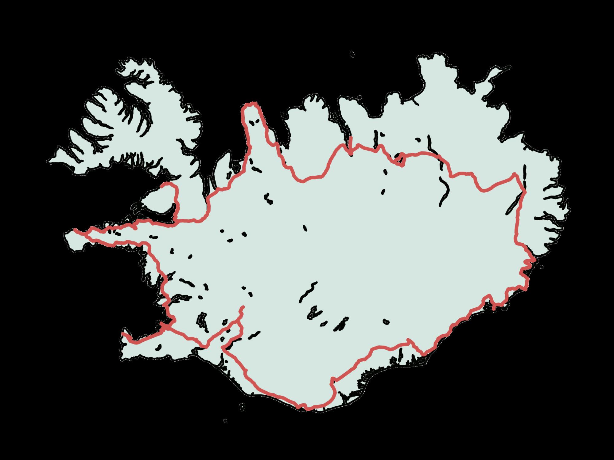 Route Roadtrip: Island im Sommer 2019