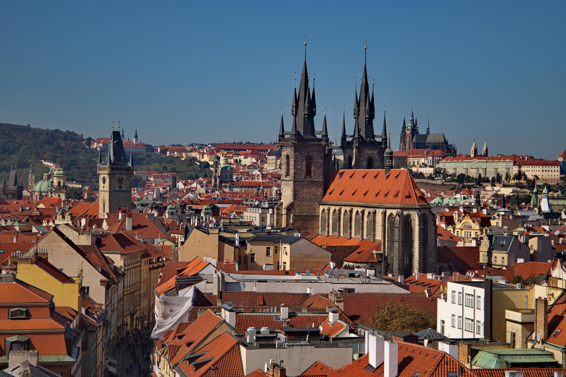 Aussicht Prag